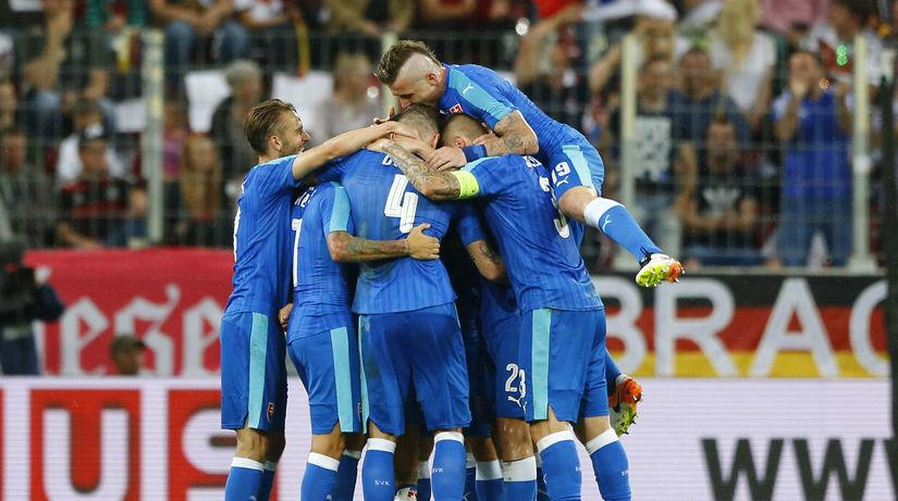 Slovensko, radosť, futbalisti