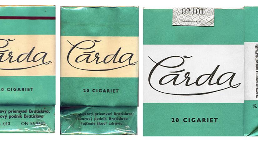 cigarety Čárda, fajčenie