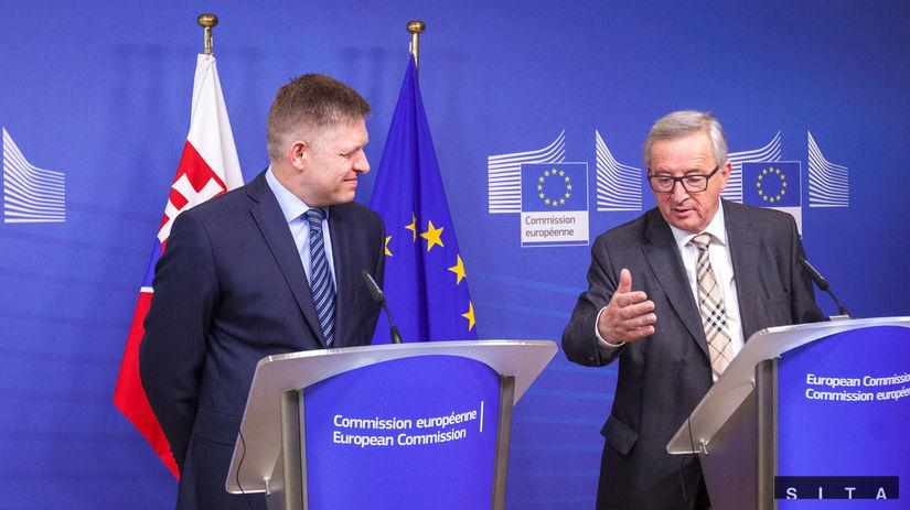 Fico, Juncker
