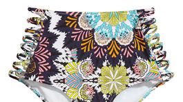 Plavkové nohavičky s vysokým pásom - predáva H&M.