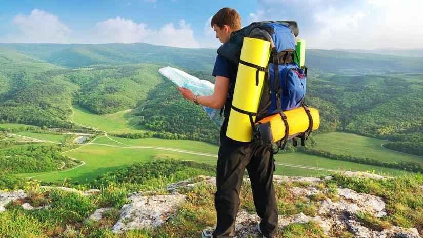turista, turistika, hory, kopce, ruksak, vak,...