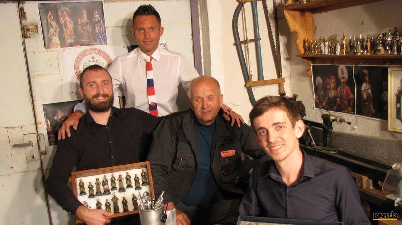 Viktor Pagáč, Michal Pagáč, otec Juraj Pagáč a...