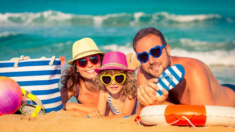 dovolenka, more, oceán, leto, rodina, pláž,...
