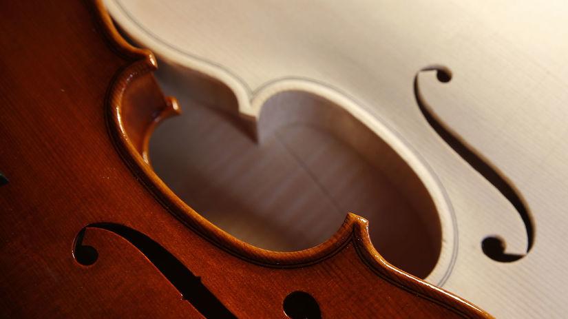 husle, hudba, hudobný nástroj, remeslo,...