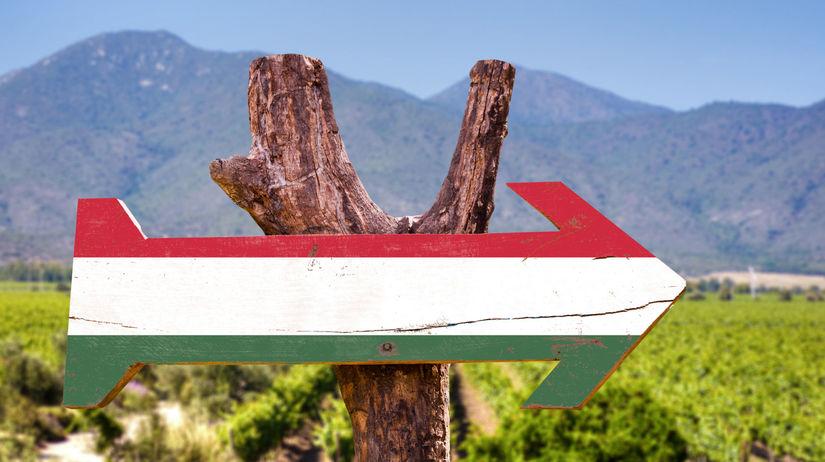 Maďarsko, šípka, cestovanie, smer, hory,...