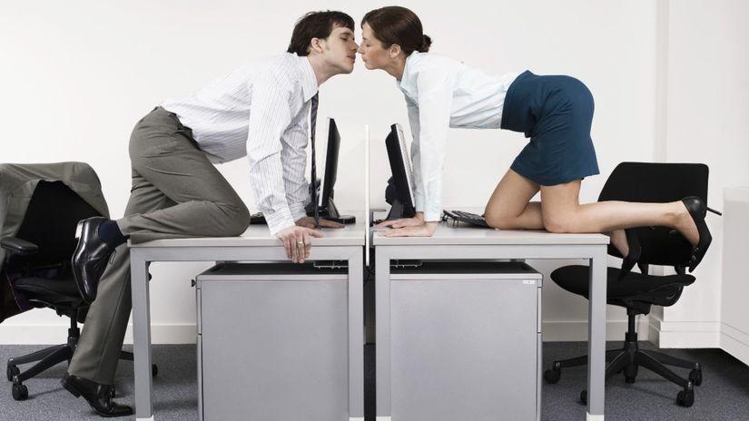 láska, vzťah, pracovisko