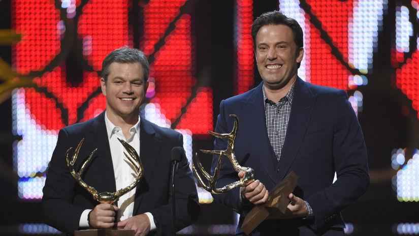 Matt Damon (vľavo) a Ben Affleck