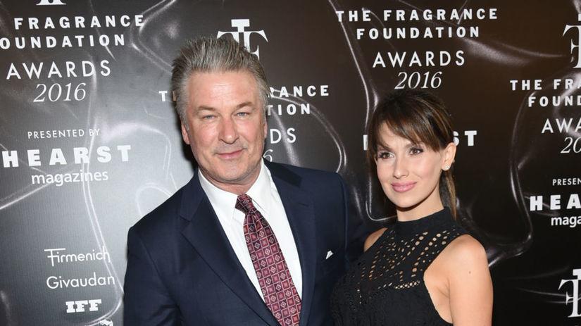 Herec Alec Baldwin a jeho manželka Hilaria...