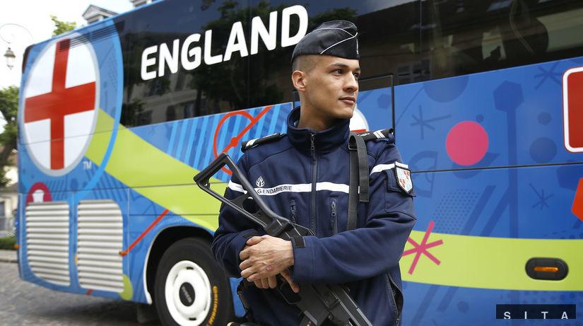 euro 2016, francúzsko, policajt,