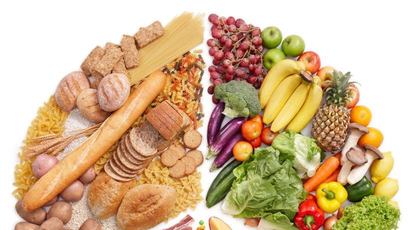 jedlo, zdravá strava, zelenina, ovocie, vláknina