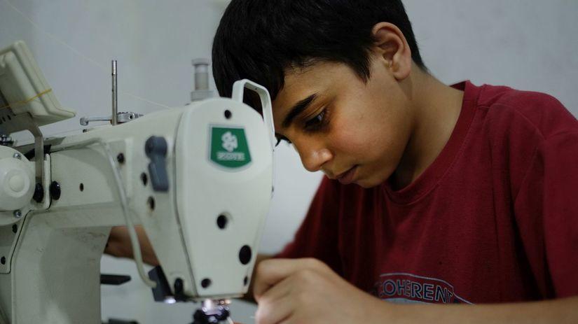 detská práca, utečenec,