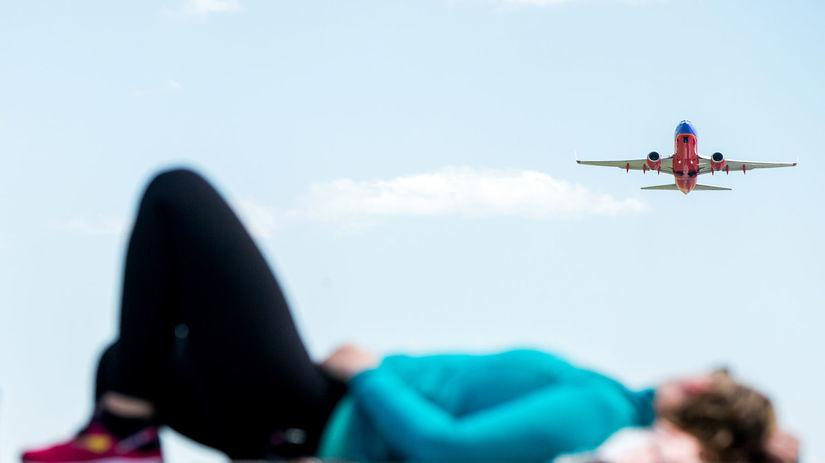 lietadlo, ležanie, turista, cestovanie, let,...