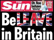 Britský bulvár je za brexit.