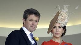 Dánska princezná Mary a jej manžel - korunný princ Frederik