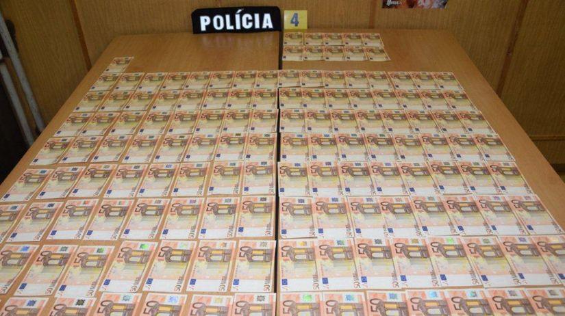 falošné bankovky, falšovanie peňazí,