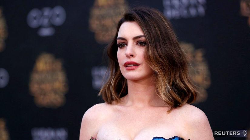Herečka Anne Hathaway.