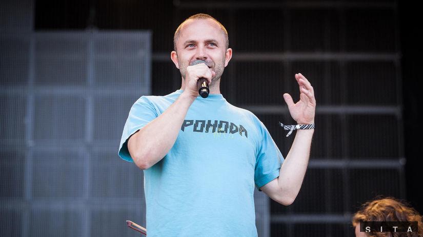 Riaditeľ festivalu Pohoda Michal Kaščák.