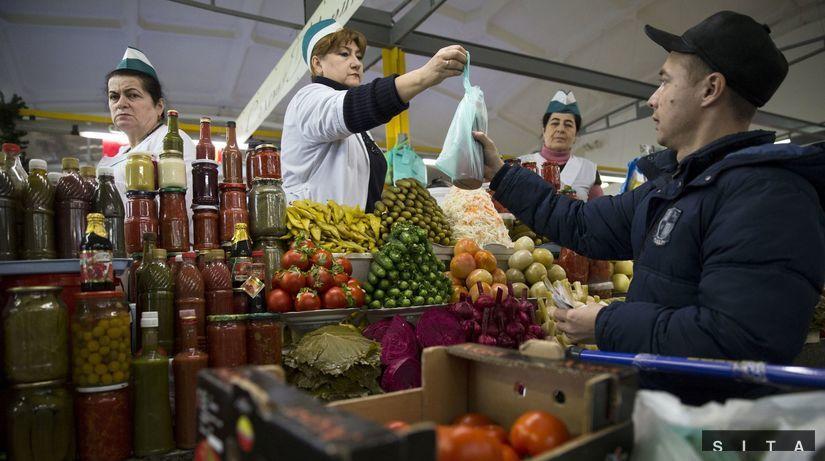 ruské sankcie, sankcie, potraviny, nakupovanie,...