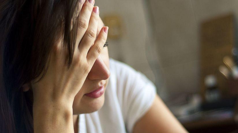 choroba, bolesť, hlava, depresia, smútok