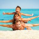 shutterstock, dovolenka, slnko, pláž, more, cestovanie, rodina, leto