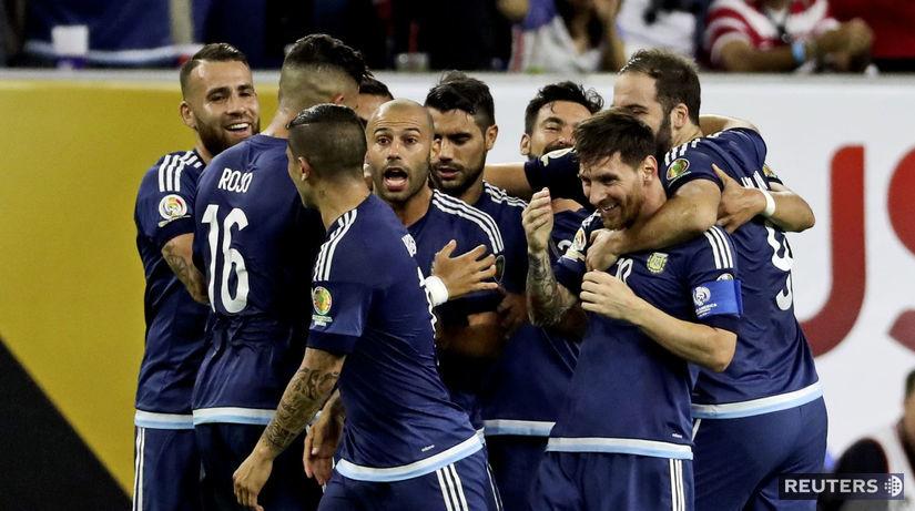 Argentína, futbal, radosť
