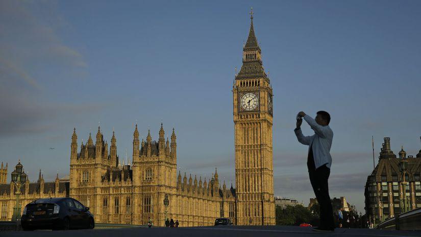 Veľká Británia, Londýn, Big Ben, parlament,...