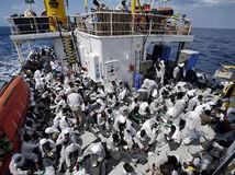 stredozemné more, migranti