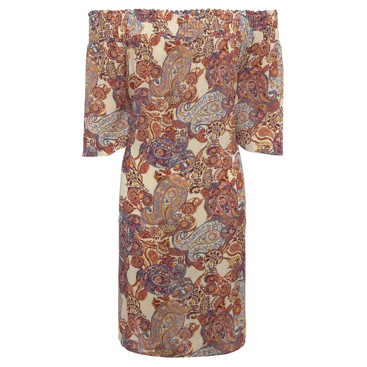 0619266e7a9a Dámske šaty s odhalenými ramenami F F - cena pred zľavnením 20 eur.