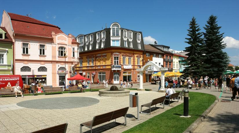 Poprad, mesto,