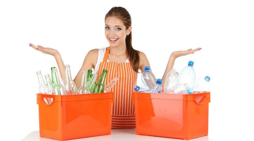 triedenie odpadu, separovanie, ochrana prírodyy
