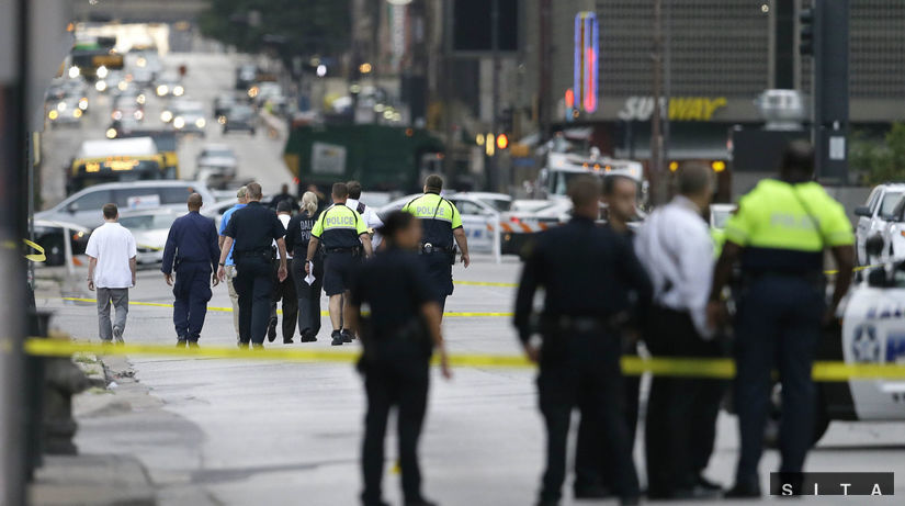 Dallas, streľba, policajti