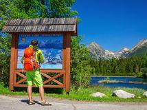 tatry, dovolenka, turistika, turista, hory, ruksak, mapa, Vysoké Tatry, Štrbské pleso,