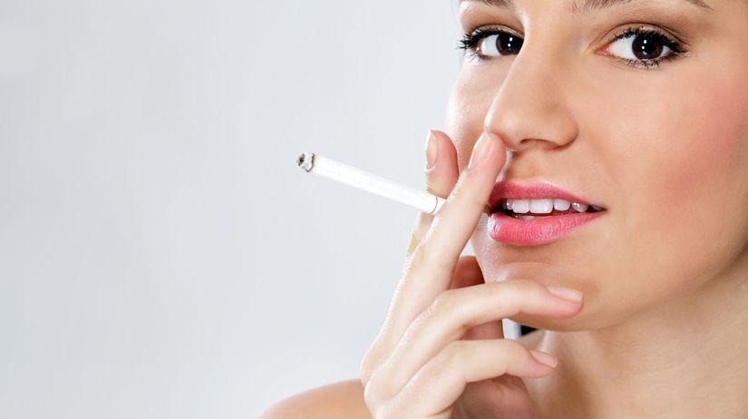 cigareta, drogy, fajčenie, žena,