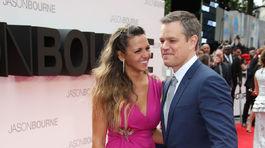 Herca Matta Damona sprevádzala na premiére manželka Luciana Barroso.