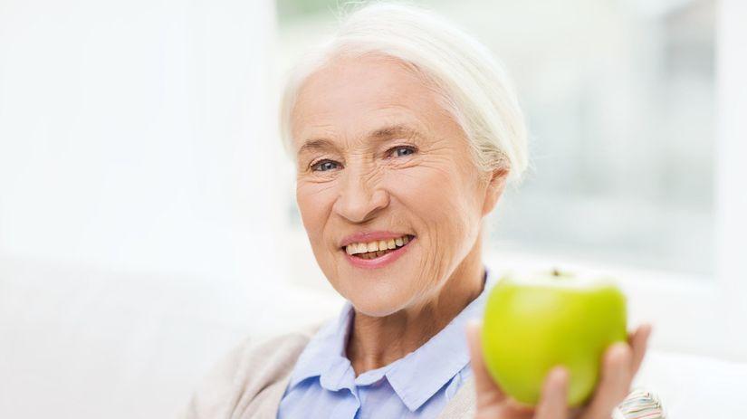 senior, dôchodca, starý človek, zdravá výživa,...