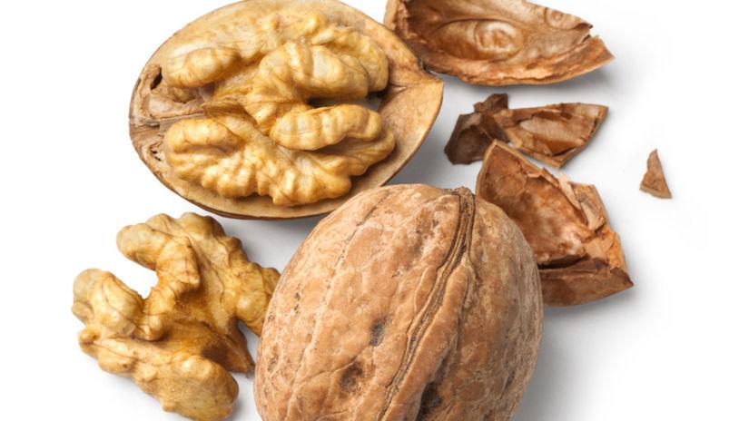 horčík, orech, orechy, vlašské orechy