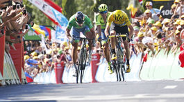 Peter Sagan, Chris Froome