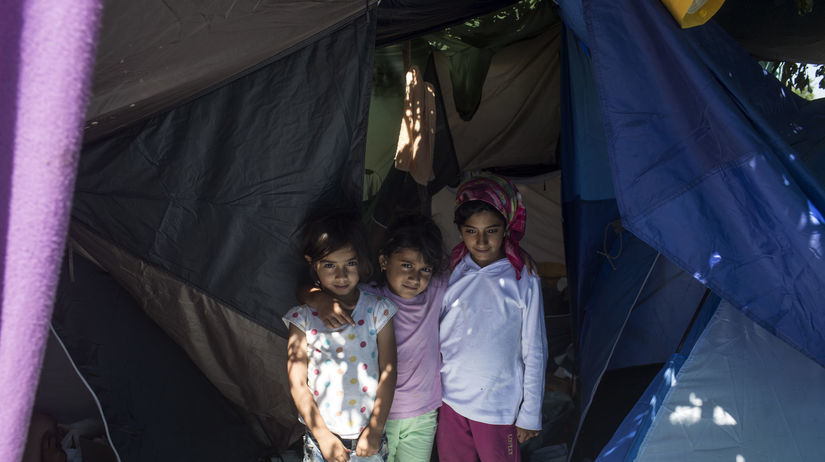 utečenci, Srbsko