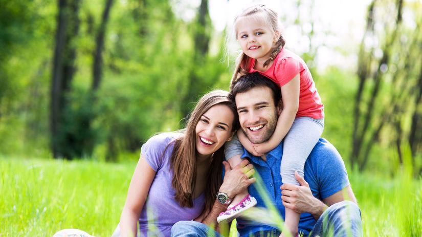 rodina, mama, otec, dieťa, dcéra, výlet,...