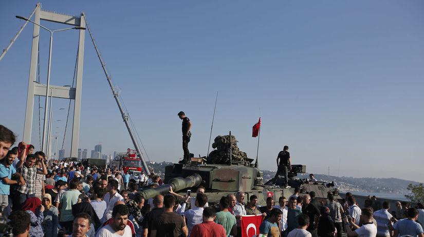Turecko, prevrat