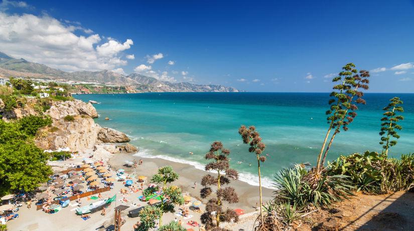 Španielsko, more, Andalúzia, leto, letná...