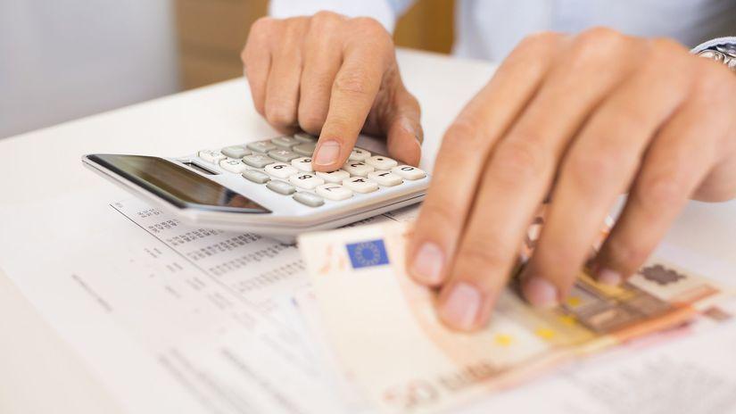 dane, odvody, účtovník, peniaze