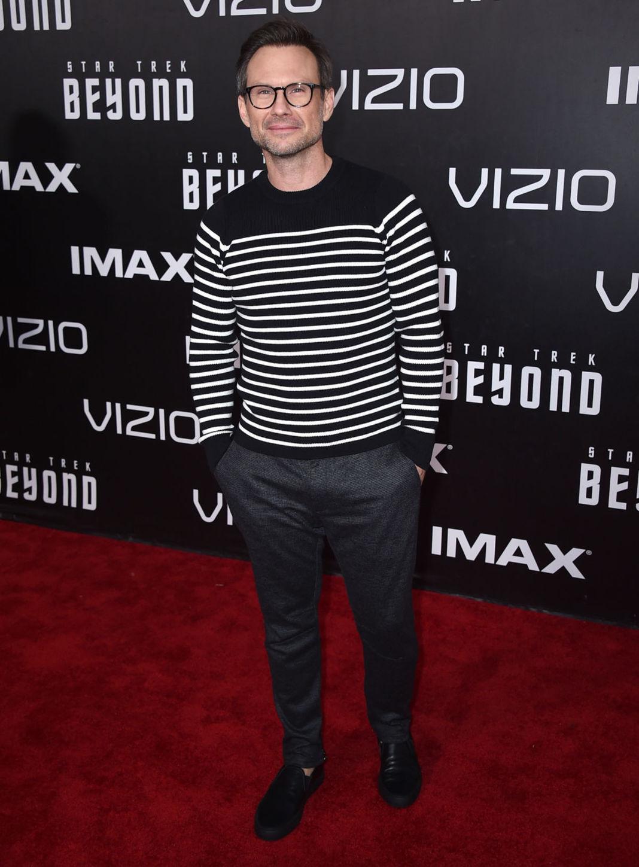 Herec Christian Slater.