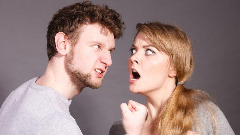 zlo, hnev, hádka, agresia, domáce násilie
