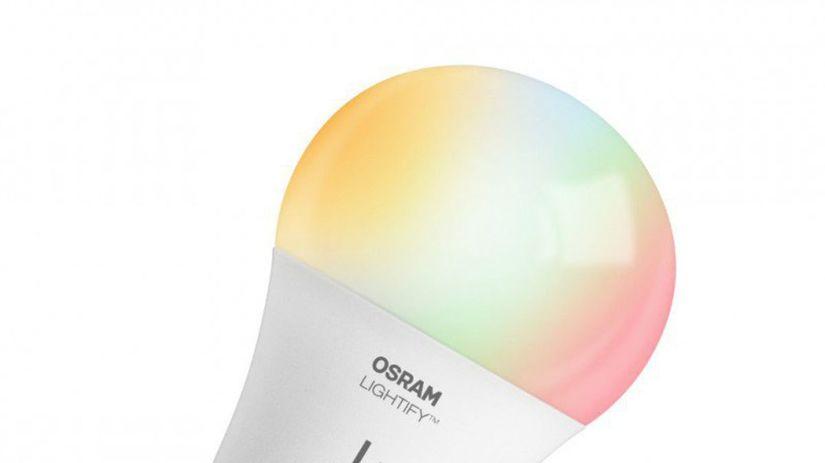 osram, lightify, inteligentné žiarovky, žiarovka