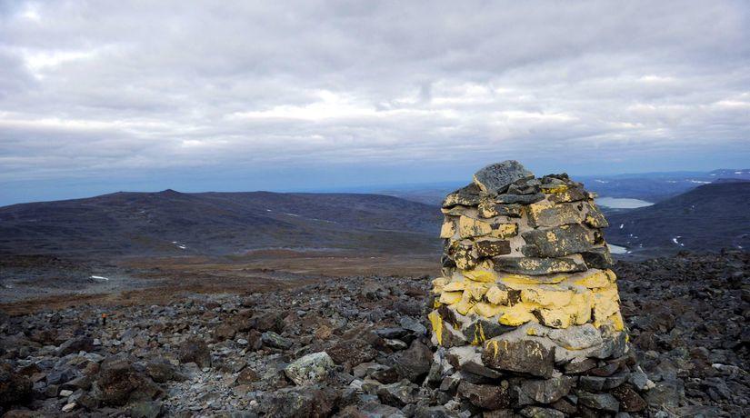 Fínsko, Nórsko, vrch Halti, hory,