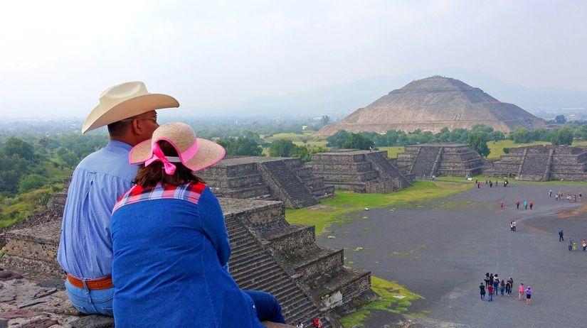Mexiko, Teotihuacan, pyramídy, Aztékovia,