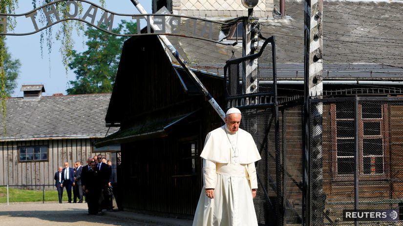 pápež František, koncentračný tábor Auschwitz