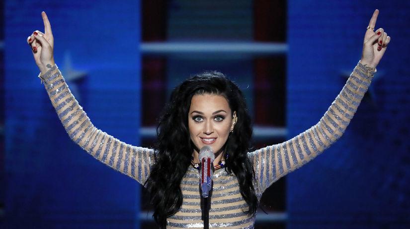 Speváčka Katy Perry.