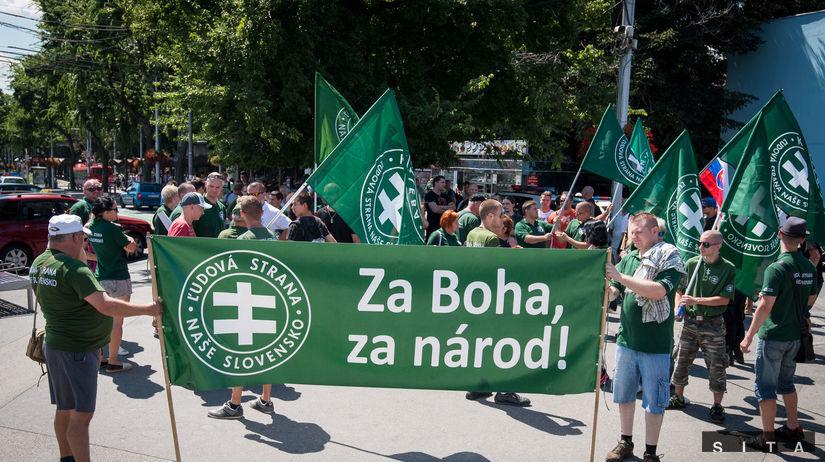protest proti Dúhovému Pridu v Bratislave,...